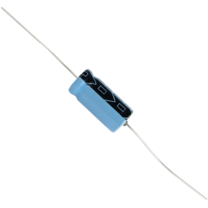 Capacitor - Electrolytic, Axial Lead, 220 µF @ 50 VDC