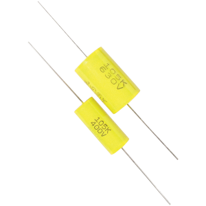Capacitor - Metal Film, Tubular, 630V, .001µF - 1.5µF