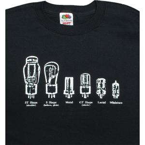Shirt - Black with Tube Shapes