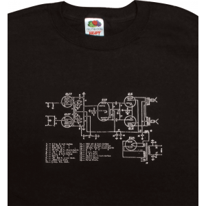 Shirt - Black with Schematic