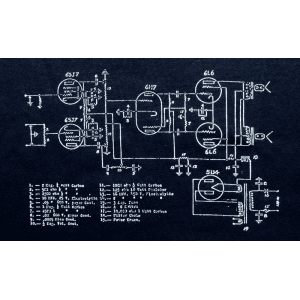 Shirt - Blue with Schematic