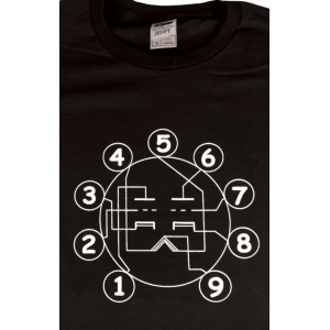 Shirt - Black with Tube Pin-out
