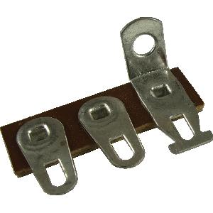 Terminal Strip - 3 Lug, 1st Lug Common, Horizontal, package of 5