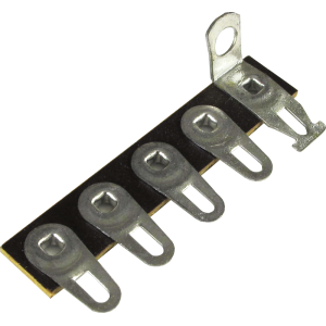 Terminal Strip - 5 Lug, 1st Lug Common, Horizontal, package of 5