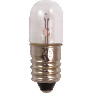 Dial Lamp - #42, T-3-1/4, 3.2V, 0.35A, Screw Base