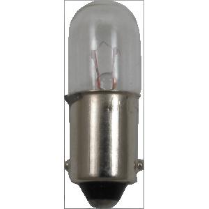 Dial Lamp - #43, T-3-1/4, 2.5V, 0.50A, Bayonet Base
