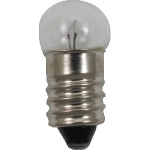 Dial Lamp - #50, G-3-1/2, 7.5V, .22A, Screw Base