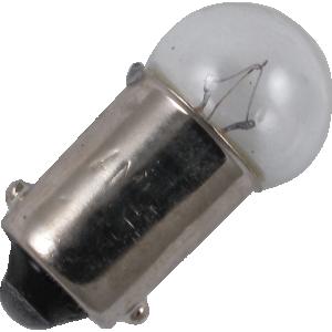 Dial Lamp - #53, G-3-1/2, 14.4V, .12A, Bayonet Base