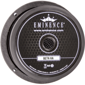 "Speaker - Eminence® American, 6"", Beta 6A, 175 watts"