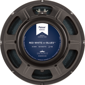 """Speaker - Eminence® Patriot, 12"""", Red, White and Blues, 120W"""