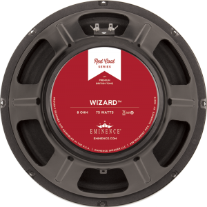 "Speaker - Eminence® Redcoat, 12"", The Wizard, 75 watts, 16 ohm"