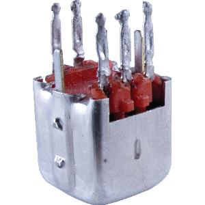 Transformer - IF, 455 KC Red Cap, Detector