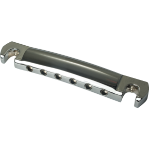 Stop Bar - Kluson, Chrome, with Steel Studs