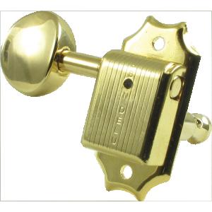 Tuning machine - Kluson Oval, 3 per side, gold