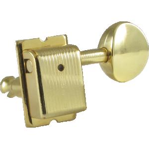 Tuning machine - Kluson, 6 in line, gold