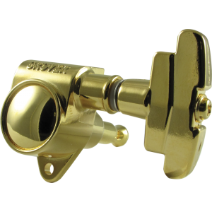 Tuning machine - Grover Super Rotomatic, 3 per side, gold