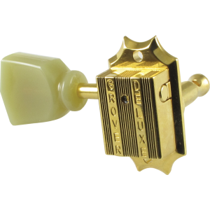 Tuning machine - Grover Vintage, 3 per side, gold