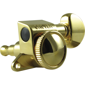 Tuning machine - Grover Mini Rotomatic Roto-Grip locking, 6 in line, gold
