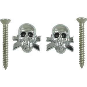 Strap locks, chrome Skulls, Grover