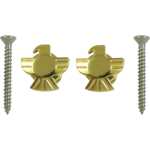Strap locks, gold Eagle, Grover