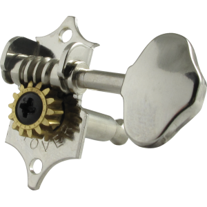 Tuning machine - Grover Sta-Tite, 3 per side vertical, nickel
