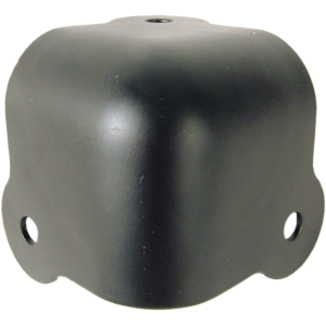 Corner - Black Steel, 3-Hole, 18 Gauge