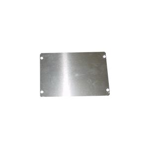 """Cover Plate, Hammond, Aluminum, 6"""" x 4"""""""
