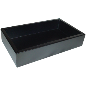 "Chassis Box - Hammond, Black Steel, 10"" x 6"" x 2"""
