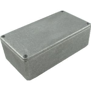 "Chassis Box - Diecast Aluminum, 4.77"" x 2.60"" x 1.39"""