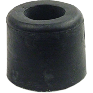 "Feet - Rubber, 5/8"" Diameter x ½"" Tall, Steel Washer Insert"