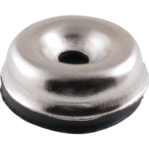 "Foot - Chrome Glides, 15""/16"" Diameter, package of 4"