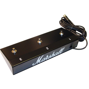 Footswitch - Marshall, Three Button (1, 2, 3), LED