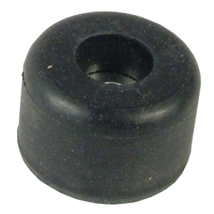 "Foot - Rubber, .875"" x .53"", with Metal Washer"
