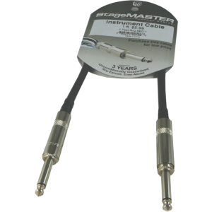 Instrument cable, ProCo Stagemaster, 1 foot