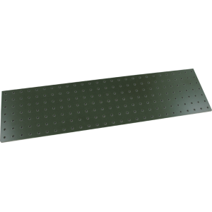 Turret Board - Blank, 2 mm, 189 Holes, 258mm x 67mm, Green