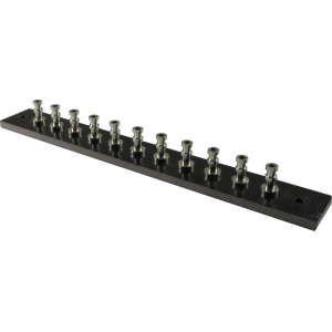 Turret Strip - 127mm x15.875mm, loaded with 11 turrets