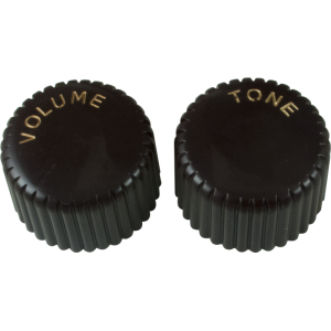Knob - Vintage Cupcake, 1 Volume, 1 Tone, Push-On