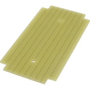 ProtoBoard - Fits 1590B, 1 sided, 2-hole strips