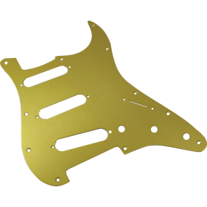 Pickguard, Fender® American Stratocaster 11-hole gold