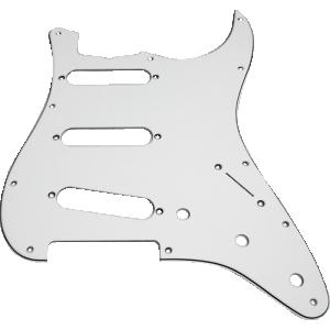 Pickguard, Fender® Vintage Stratocaster 11-hole white