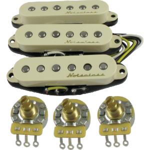 Pickup - Fender, Vintage Noiseless for Strat, set of 3