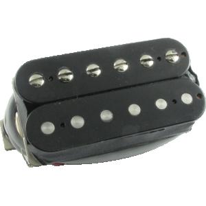 Pickup, Gibson® 496R Hot Ceramic Humbucker, double black neck