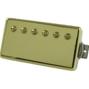 Pickup, Gibson® Burstbucker #3 Alnico II humbucker, gold