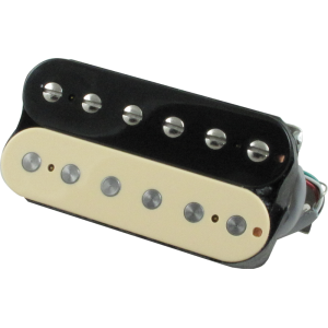 Pickup, Gibson® 498T Hot Alnico 5 humbucker, zebra bridge