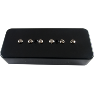 Pickup - Kent Armstrong, Stealth 90 - Noiseless P90 Bridge, Black, Plastic Cover