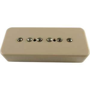 Pickup - Kent Armstrong, Stealth 90 - Noiseless P90 Bridge Cream Plastic Cover