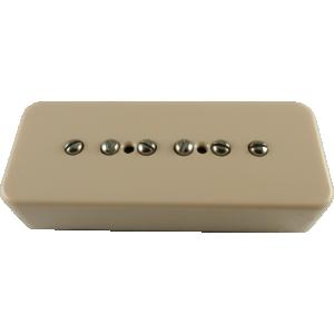 Pickup - Kent Armstrong, Stealth 90 - Noiseless P90 Bridge Cream Plastic Cover