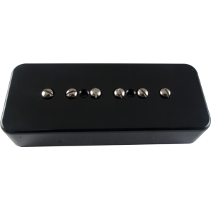 Pickup - Kent Armstrong, Stealth 90 - Noiseless P90 Neck, Black, Plastic Cover