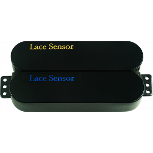 Pickup - Lace Sensor, Dually, Blue-Gold, Black Covers