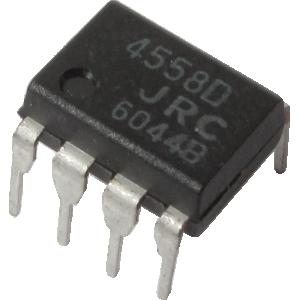 Integrated Circuit - 4558, Dual Op-Amp